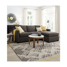 Thea Wool Rug | Crate and Barrel