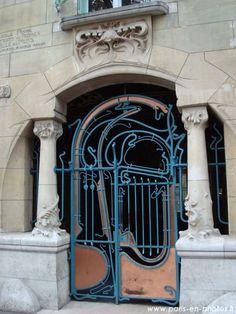 Porte du castel beranger guimard 1895