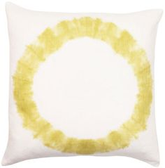 tie-dye single ring pillow