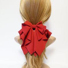 Handmade Hair Accessories, Hair Accessories For Women, Hair Jazz, Diy Hair Scrunchies, Boutique Hair Bows, Headband Styles, Shiny Hair, Chiffon Fabric, Feminine Style