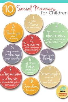 Adults should be reminded of these. 10 Social Manners for Children - A little bit of good manners goes a long way. Here are 10 social manners that will take your children far. Reward good manners with our Manners Rewards Coupons! Gentle Parenting, Parenting Advice, Kids And Parenting, Parenting Issues, Parenting Classes, Parenting Quotes, Parenting Websites, Positive Parenting Solutions, Autism Parenting