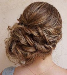 Featured Hairstyle: Heidi Marie Garrett of Hair and Makeup Girl; www.hairandmakeupgirl.com; Wedding hairstyle idea.