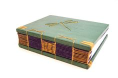 dragonfly journal by ThreeTreesBindery on Etsy