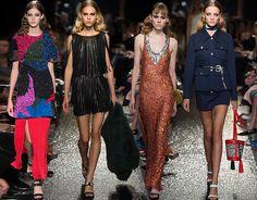 Sonia Rykiel Spring/Summer 2016 Collection  #fashion #runway #catwalk