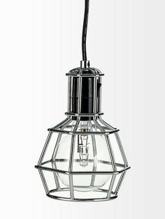 Work light by Design House Stockholm. Work Lights, Bedroom Lighting, Light Fittings, Stockholm, Lanterns, New Homes, House Design, Ceiling Lights, Canning