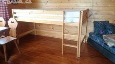 Prodám dětskou dřevěnou postel - obrázek číslo 1