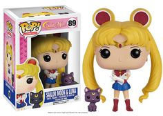 Pop! Anime: Sailor Moon I am the Pretty Guardian who fights for love and for justice. I am Sailor Moon! In the name of the Moon, I'll punish you! Sailor Moon and Luna are coming to Pop! Anime and they're bringing their friends! They're joined by the intelligent Sailor Mercury, the passionate Sailor Mars, courageous Sailor Jupiter, and beautiful Sailor Venus with her companion, Artemis! No set is complete without the mysterious Tuxedo Mask! Coming in July! ©Naoko Takeuchi/PNP, Toei Animation…