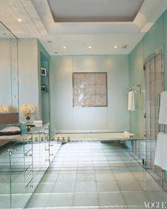 Paris apartment of fashion designer and former model L'Wren Scott