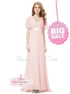 Beautiful chiffon full length dress. Full length flowing skirt that flows to the floor with a puddle train at the back. THIS DRESS IS TRULY GORGEOUS AND THE PHOTOS DO NOT DO IT JUSTICE! SALE - LIMITED SIZES AVAILABLE. | eBay!