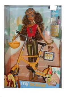 RARE Barbie My Scene a Ride in The Park Westley Fashion Doll 2003 Retired for sale Liv Dolls, Disney Characters Costumes, Miniture Things, Yorkie, Hanging Out, Fashion Dolls, Barbie Dolls, Minions, The Past