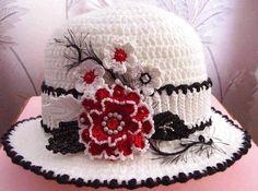 Delicadezas en crochet Gabriela: Capelina con diseño floral