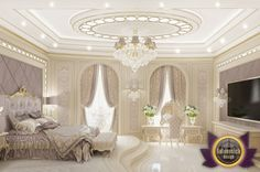 Bedroom Design in Dubai, Bedroom for guests, Photo 3