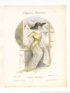 Élégances féminines. Revue mensuelle de la grande couture parisienne 1912