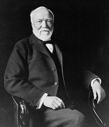 Andrew Carnegie, 1835-1919, (U.S.) Scottish-born industrialist, philanthropist, founded Carnegie Steel Co.