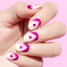 Elegant Valentine's Day Nails