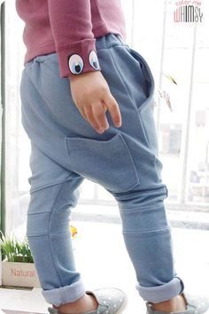Dolphin Sweatpants for kids aged 1-6. Play approved fashion at Color Me WHIMSY.