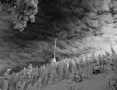 Ještěd Czech Republic, My Photos, Winter, Places, Artwork, Winter Time, Work Of Art, Auguste Rodin Artwork, Artworks