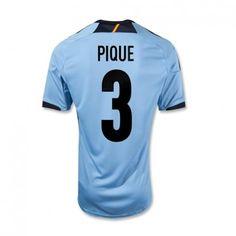 Piqué de la Selección Española Eurocopa 2012 Away Camiseta fútbol Niño   689  - €16.87   Camisetas de futbol baratas online! 812d17d8ad1d2
