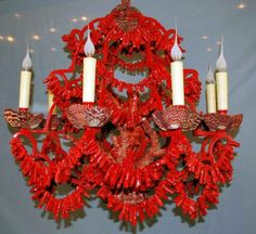 Coral chandelier wow
