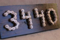 Upcycled House Numbers by BlackfootCustom on Etsy - Home Accessories,