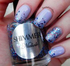 Shimmer Polish Nichole Easy Nail Art Ideas