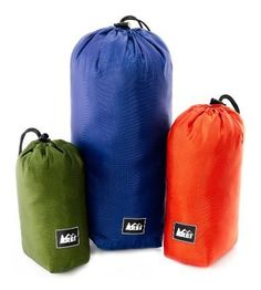 Set of 3 stuff sacks