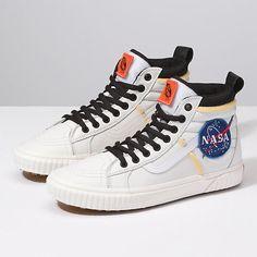 5043db4b61 Vans x NASA SK8- Hi 46 MTE DX Space Voyager True White VN0A3DQ5UQ41 Shoes Sz