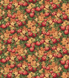 Susan Winget Holiday Insporations Fabric Christmas Cookies & Fruit