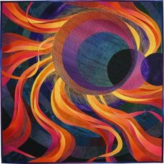 Corona 3: Solar Eclipse by Caryl Bryer Fallert-Gentry