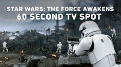 Star Wars: The Force Awakens 60 Second TV Spot (Official) #DarthViral #StarWars