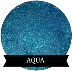 AQUA is a very beautiful blue eyeshadow, that has very fine shimmers of green and gold in its undertone. Such a GORGEOUS shade! This would be a wonderful addition to your eyeshadow collection!   NOT FOR USE ON LIPS  In compliance with FDA regulations this eyeshadow is filled by WEIGHT. 3 Gram jars ( by volume) contain .80 grams of product by WEIGHT 5 Gram jars ( by volume) contain 1.25 grams of product by WEIGHT    If you would like to view our other teals, blues, and green shades, please…