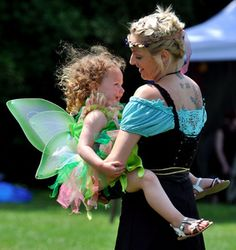 Image of Faery Fest from the Guelph Mercury. Guelph, Ontario.