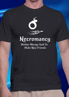 DnD Inspired Necromancy Unisex T-shirt