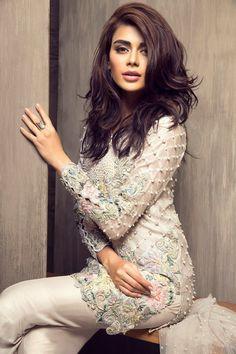 Ready, Set, Shoot: Elan by Khadijah Shah 'Eden' Eid Collection! Pakistani Couture, Pakistani Outfits, Indian Outfits, Desi Clothes, Asian Clothes, Pakistan Fashion, Bollywood Fashion, Indian Dresses, Asian Fashion