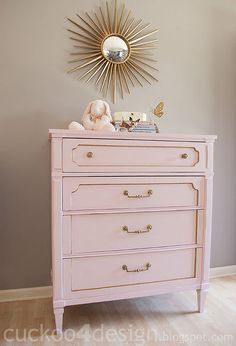 home made chalk paint dresser, chalk paint, painted furniture, after