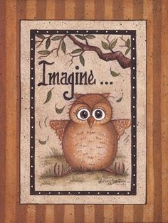 Imagine by Mary Ann June art print