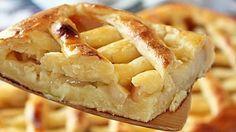 Творожно-овсяный пирог с яблочной начинкой - life4women.ru
