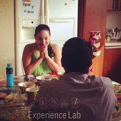Trabajamos por encontrar esas miradas. #todoesposible cuando pones el corazón!   /Experiencelab.co