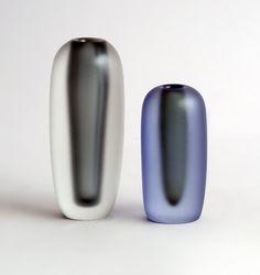 Hadeland Norway Willy Johansson Quot Rocket Quot Vase 60 S