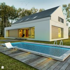 Dom modny - Domy, styl nowoczesny - zdjęcie od DOOMO