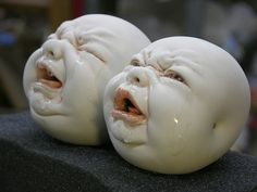 • Incredible Ceramic Sculptures by Johnson Tsang   http://johnsontsang.wordpress.com/