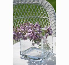 wazon szklany Quadro