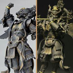 Japanese Folklore, Buddha Art, Thai Art, Sculpture Clay, Japan Art, Sacred Art, Art Studies, Religious Art, Chinese Art