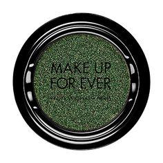 MAKE UP FOR EVER - Artist Shadow Eyeshadow and Powder Blush  in D306 Bottle Green (Diamond) - eyeshadow