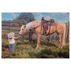 Leanin Tree An Apple A Day Horse Thank You Greeting Card TKT59146 | Buffalo Trader Online