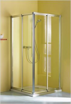 Dusche Eckeinstieg Schiebetüren Höhe 170 cm Duschkabine