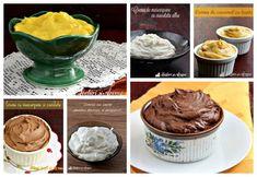 10 retete de creme pentru tort, prajituri, desert la pahar - Lecturi si Arome