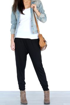 Cool How To Style Jogger Pants Spring Fashion Link Up  Lisa A La