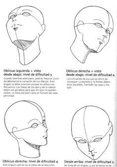dibujar cabeza - Buscar con Google