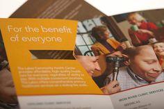 LCHC Brochure by Matthew Olin, via Behance